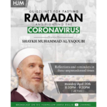 Guidelines for fasting Ramadan & fighting the COVID-19