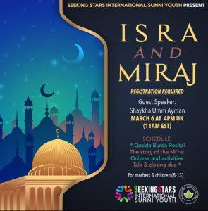 Seeking Stars – Isra and Miraj 2021