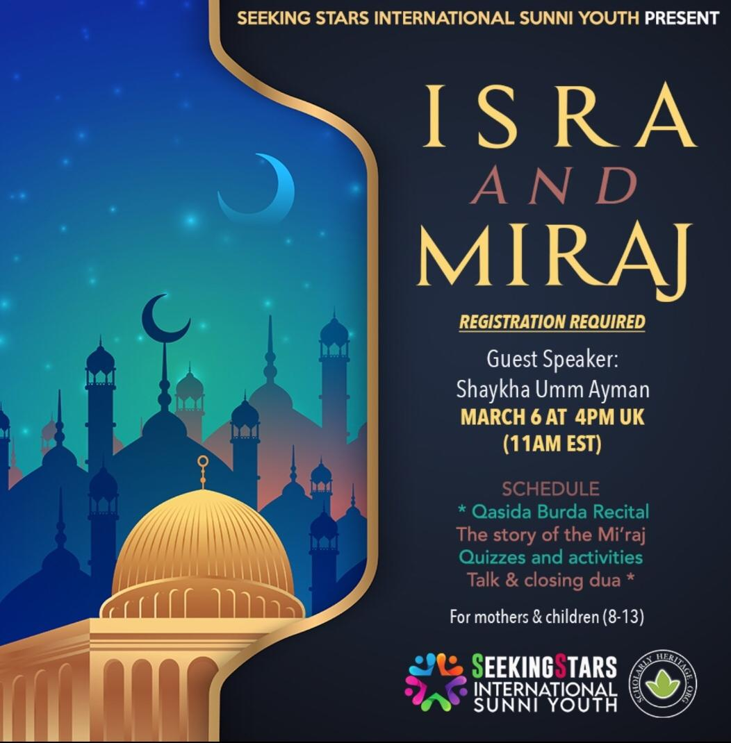 Read more about the article Seeking Stars – Isra and Miraj 2021