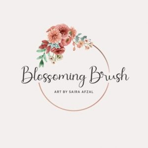 Blossoming Brush | Calligraphy